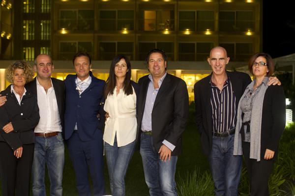 Lavinia Del Canto, Andrea Casali, Maurizio Lavetti, Simona, Mauro Celli, Antonio Franceschi-Giovanna Pellegrini