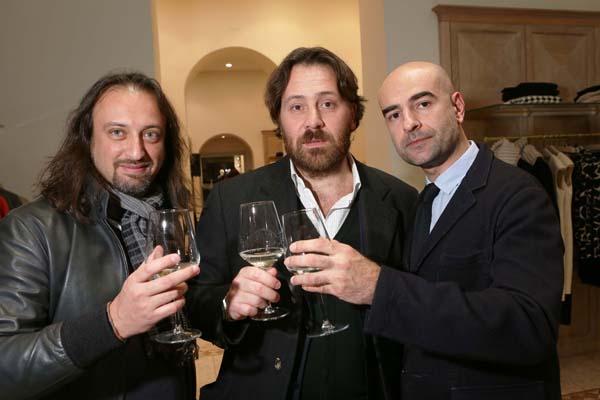 Giacomo Benincasa, Francesco Colombo e Massimiliano Davoli