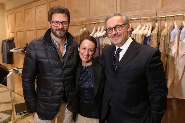 Niccolò Bruni, Sara Minelli, Alberto Conti