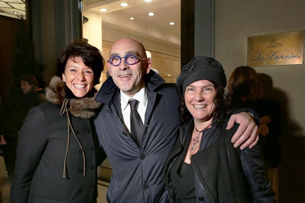 Elisa Tozzi Piccini, Barbara Rapisardi Sacchetti e Gianluca Tinacci