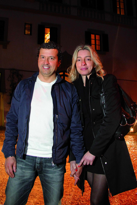 PRESSPHOTO Firenze Magazine;  evento Lexus all'Hotel Salviatino: Simona e Fabrizio Pratesi