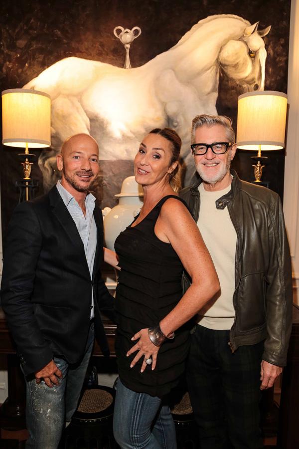 Lorenzo Poccianti, Angelica Bucalossi e Scott