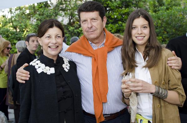 Manuela, Giovanni and Ginevra Giurlani