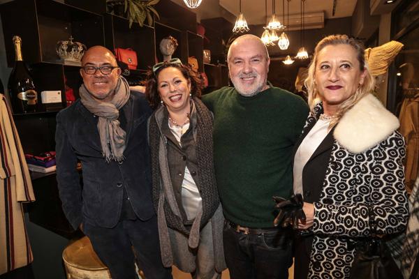 Mara Gonnelli, Stefano Valori, Luciana Lascialfacri, Eduardo Wong Valle