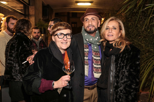 Monica Evangelisti, Nicola Manganelli, Barbara Luzi
