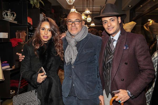 Greta Liberato, Eduardo Wong Valle, Frank Gallucci