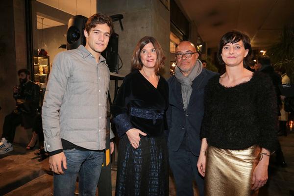 Marco Alonso, Cinzia Cioni, Eduardo Wong Valle, Geraldine Naldini