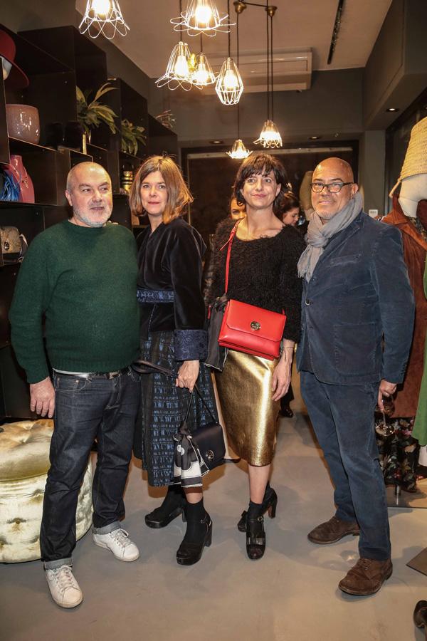 Cinzia Cioni, Geraldine Naldini, Stefano Valori, Eduardo Wong Valle