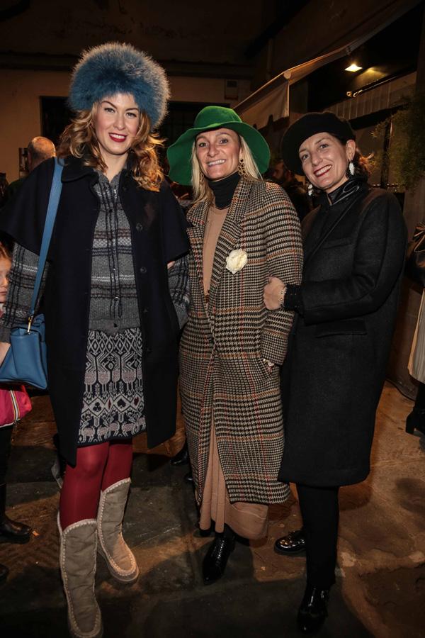 Rachele Montella, Patrizia Panchetti, Francesca Manetti