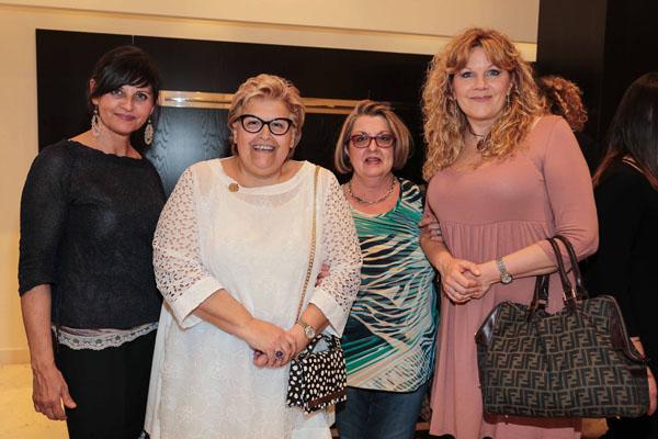 Mirella Pinzani, Teodolinda Maresca, Sherri Ellis, Cristina Pratesi