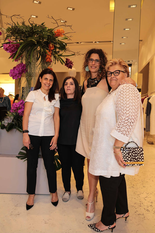 Teodolinda Maresca, Joyce Pinto, Cinzia Scacchiari, Claudia Sessa