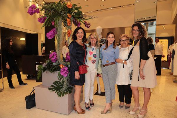 Silvia Rorandelli, Marinella Fani, Cristina Casamassimi , Teodolinda Maresca e Claudia Sessa