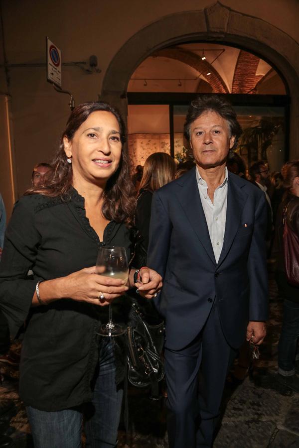 Massimo Listri e Donatella Batacchi