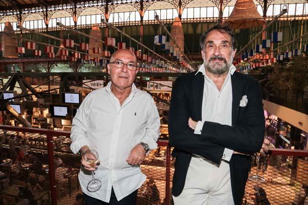 Gino Coscia, Paolo Fiumi