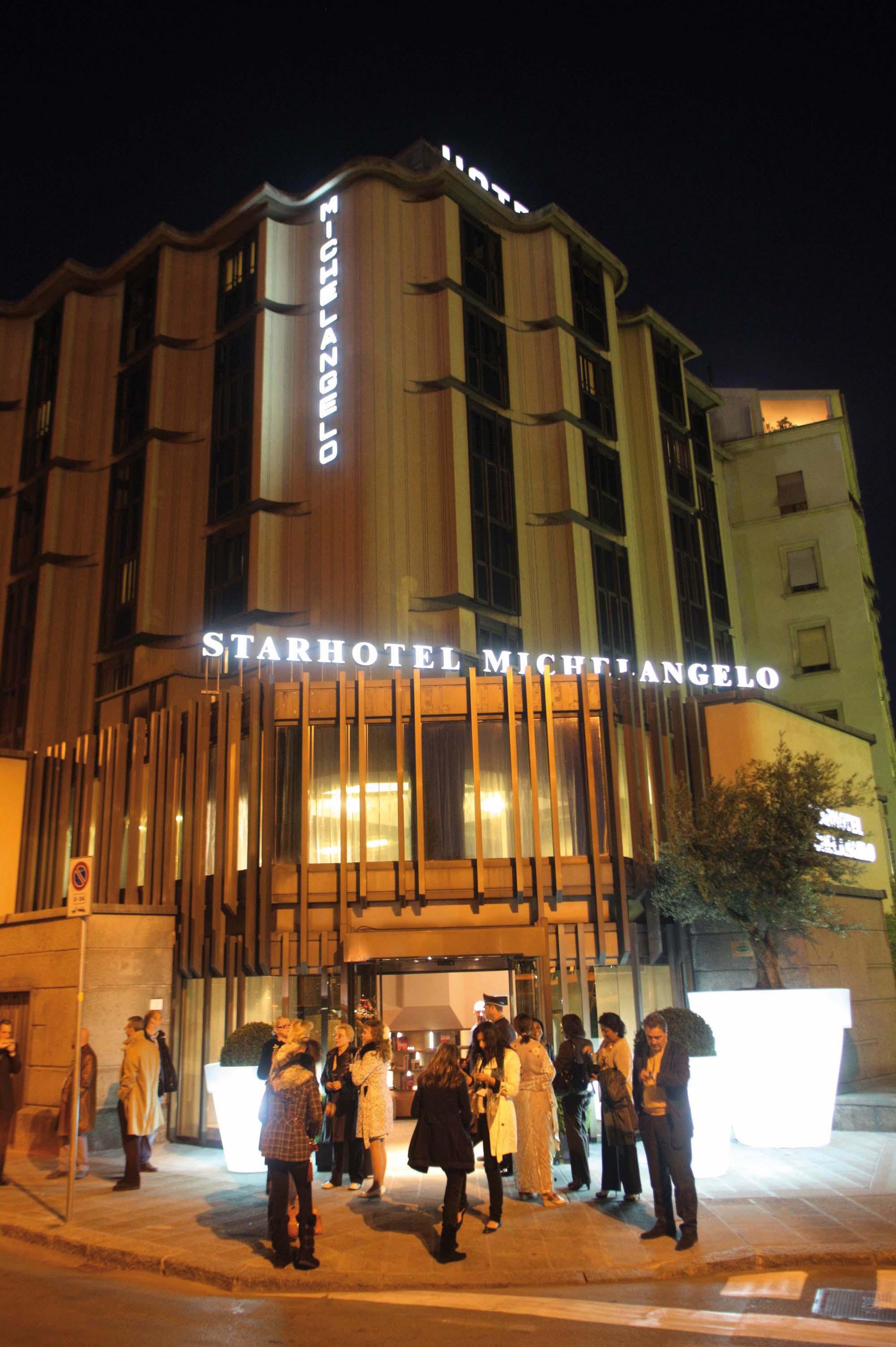 PRESSPHOTO, Inaugurazione Hotel Michelangelo dopo la ristrutturazione foto Gianluca Moggi/New PressPhoto