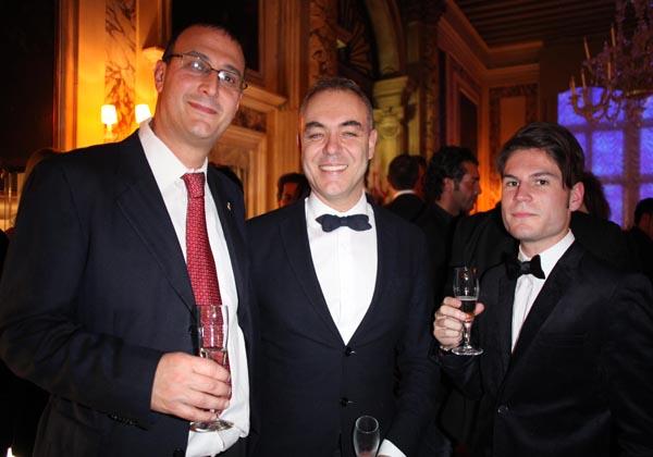 Michele Fulin, Massimo Gasparon, Giacomo Marchesini