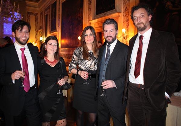 Michele Vernier, Claudia Vernier, Ania Guiotto, Alvise Padoan, Antonio Bauce