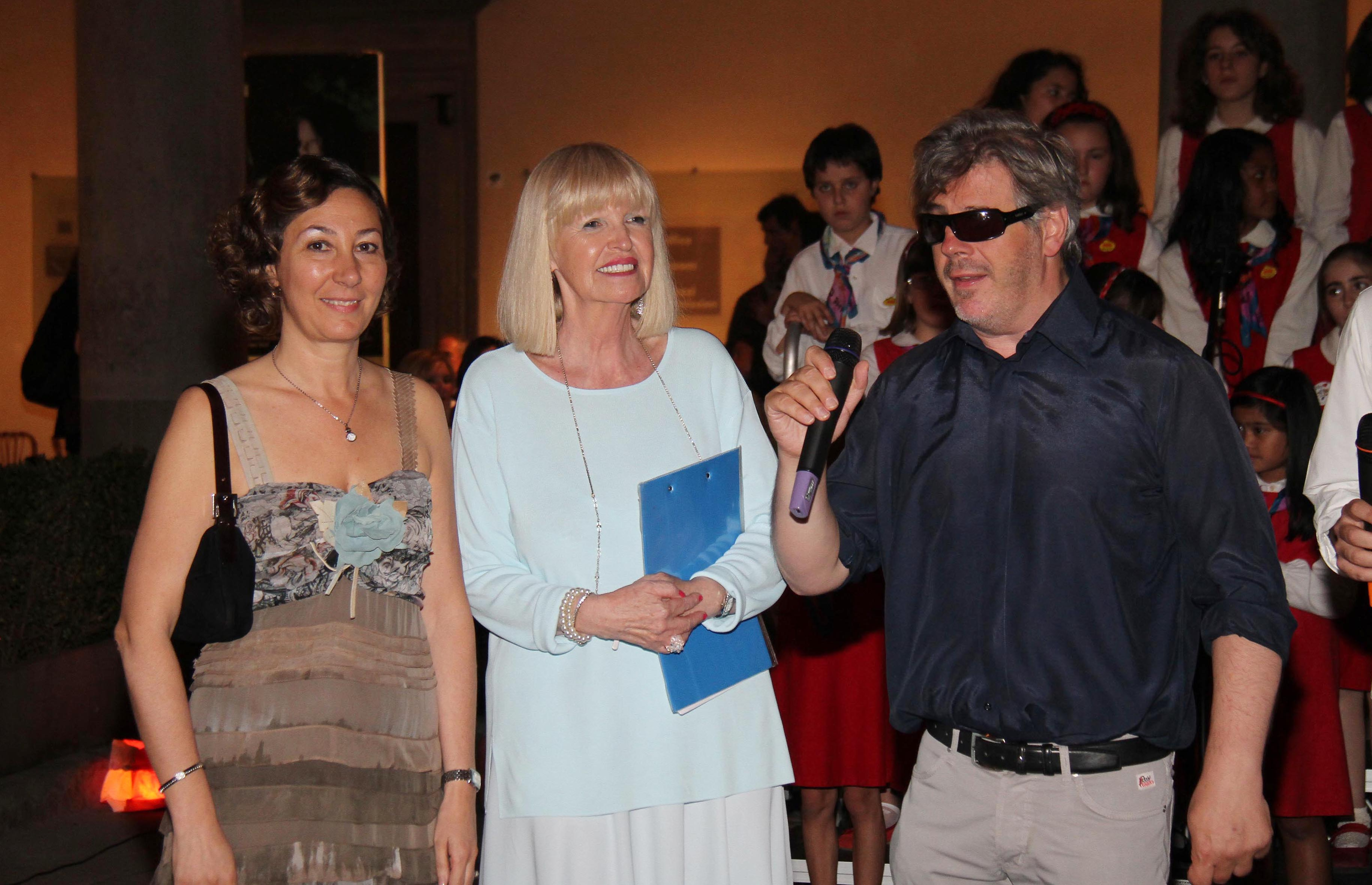 PRESSPHOTO Firenze, Palazzo Strozzi, Milano 25, Col cuore si può. Nella foto Aleandro Baldi e Barbara Enrichi