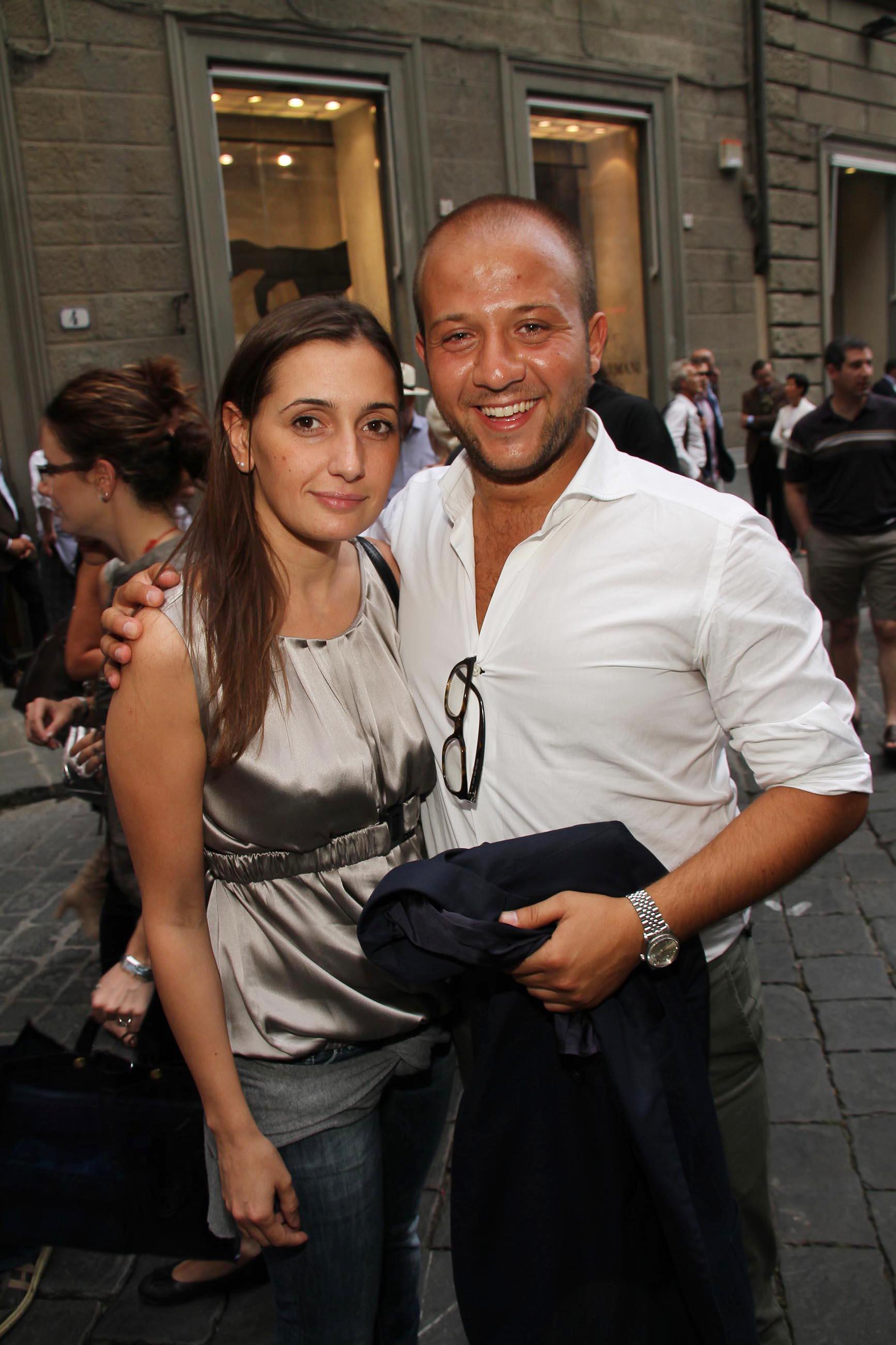PRESSPHOTO Firenze, Evento Milord Aston Martin. Nella foto Pietro Di Matteo e Francesca Castagna