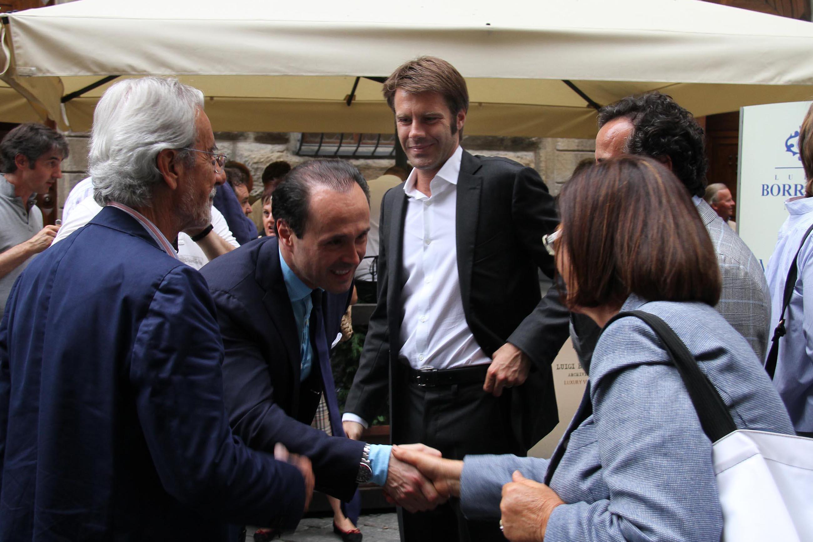 PRESSPHOTO Firenze, Evento Milord Aston Martin. Nella foto al centro  Emanuele Filiberto di Savoia