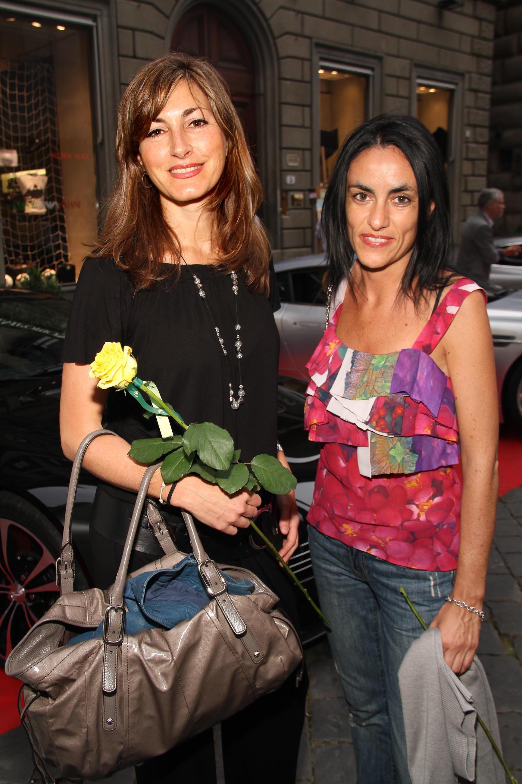 PRESSPHOTO Firenze, Evento Milord Aston Martin. Nella foto Lucia Romagnoli e Angela Deboli
