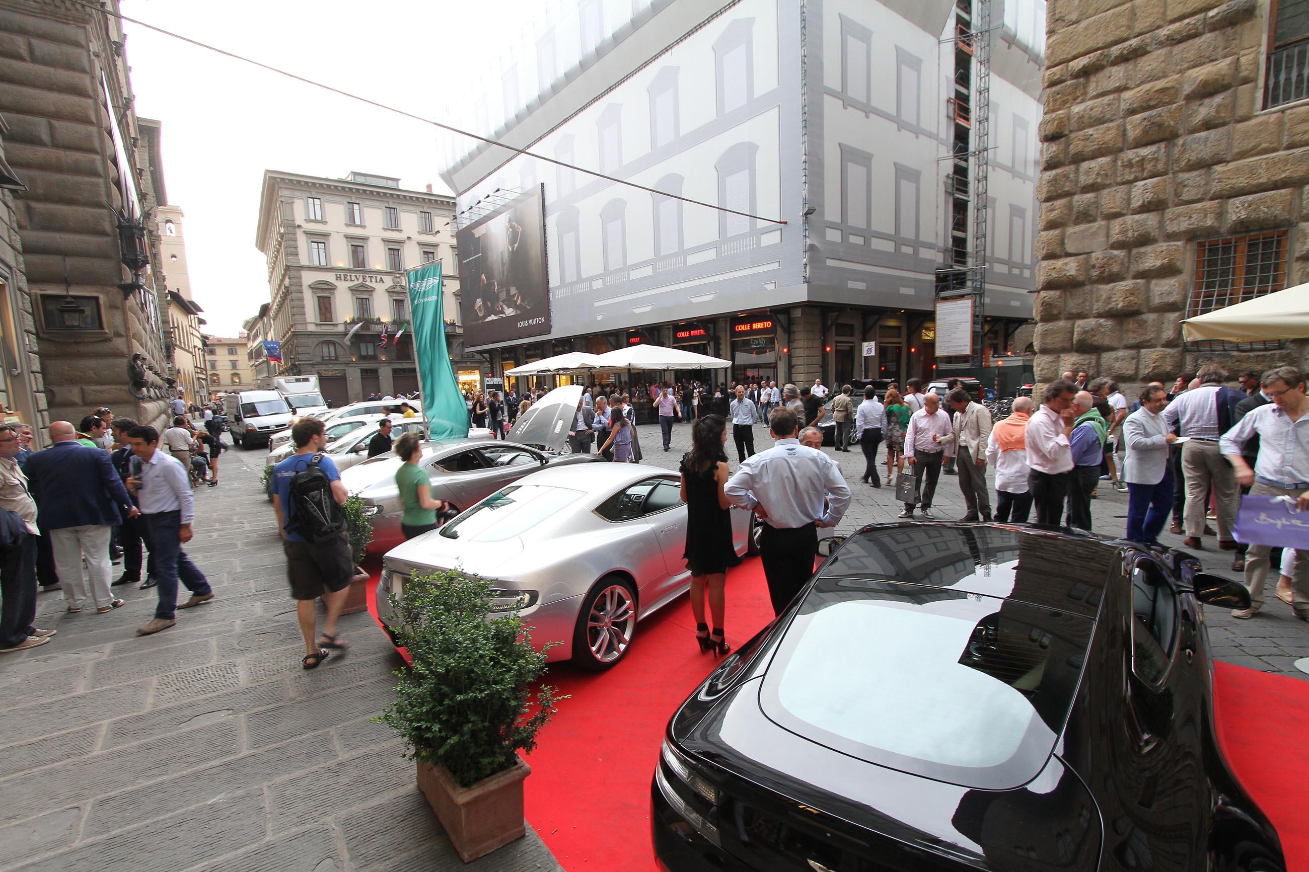PRESSPHOTO Firenze, Evento Milord Aston Martin. Nella foto
