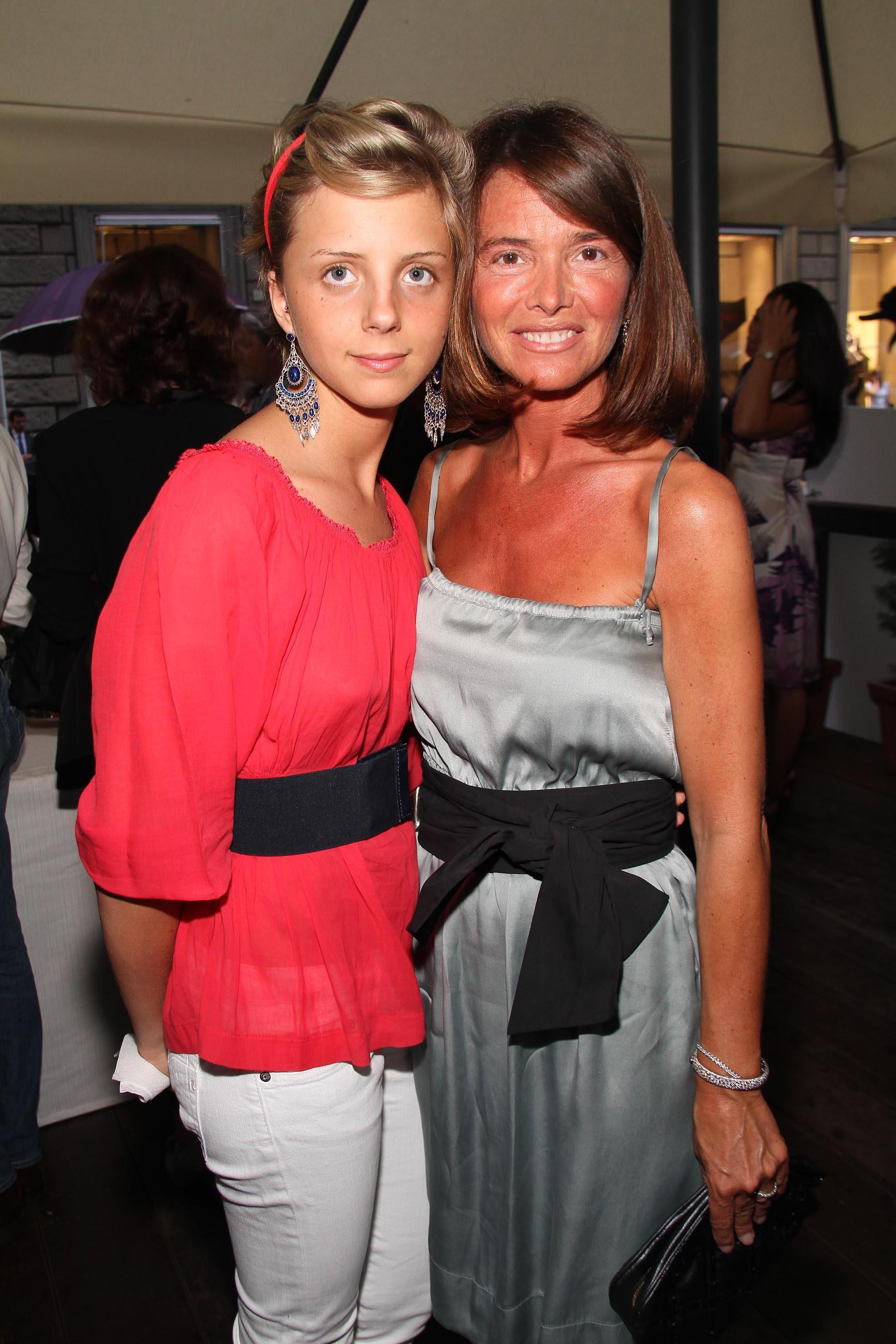 PRESSPHOTO Firenze, Evento Milord Aston Martin. Nella foto Vittoria Orsatti e Elena Giulia Monzecchi