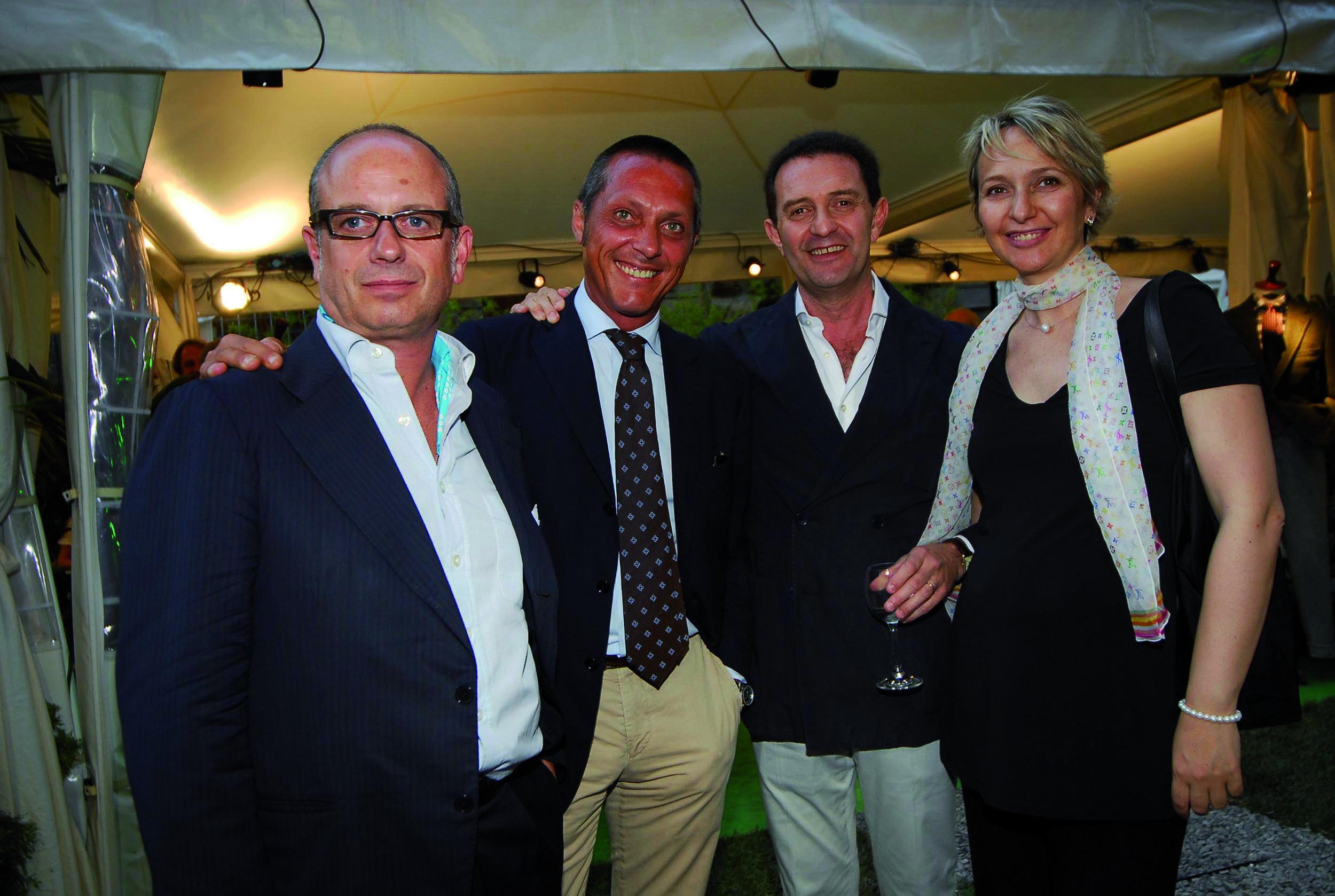 PRESSPHOTO Firenze, Milord. In foto Andrea Baglietti, Gilberto Garbin, David Fatucci e Irene Ferrari