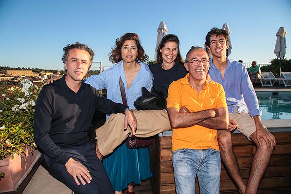 Felice Limosani, Marwa Bitar,Doris Kovacs, William e John Bitar