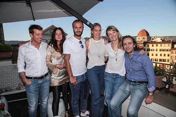 Giulio e Anna Maestrelli, Alberto e Alice Giardino, Federico ed Elisabetta Lastrucci