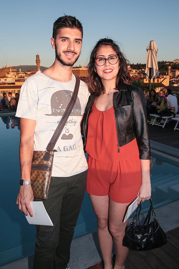 Luca Quadrelli e Chiara Guadagnucci