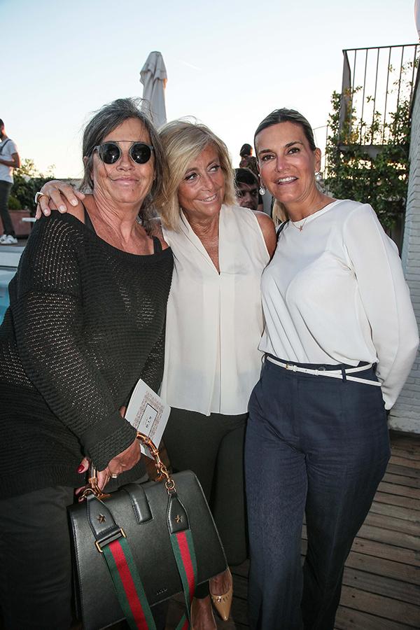 Giovannella Montorselli, Anna Arcangili Cirri, Stefania Marcocci