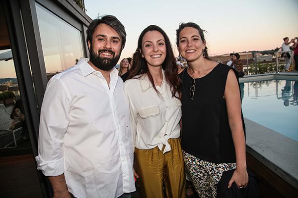 Francesco Marsotto, Sara Maestrelli e Gulia Bartalozzi