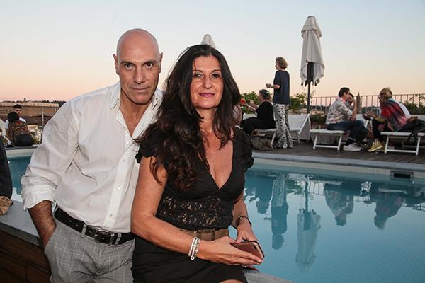 Riccardo Bianchi e Donatella Stivoli