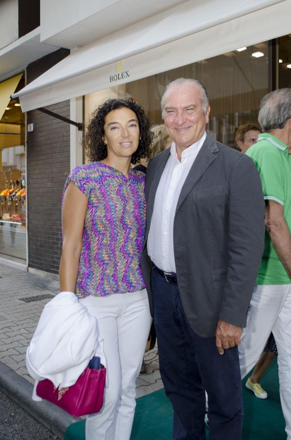 Monica Calzetti, Stefano Ballabeni