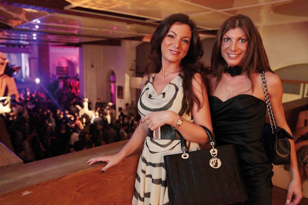 Pressphoto-Firenze  Museo Marini, Festa dell'antiquario Fabrizio Moretti per la biennale dell'antiquariato nella foto: Chiara Simone, Valentina Antonelli