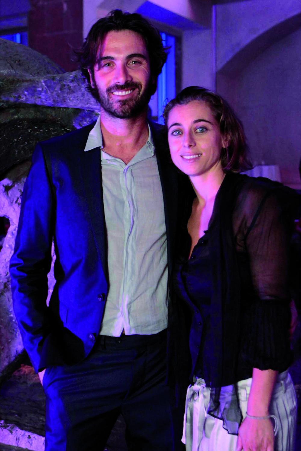 Pressphoto-Firenze  Museo Marini, Festa dell'antiquario Fabrizio Moretti per la biennale dell'antiquariato nella foto: Francesca Arena e Luca Argentero ??????????