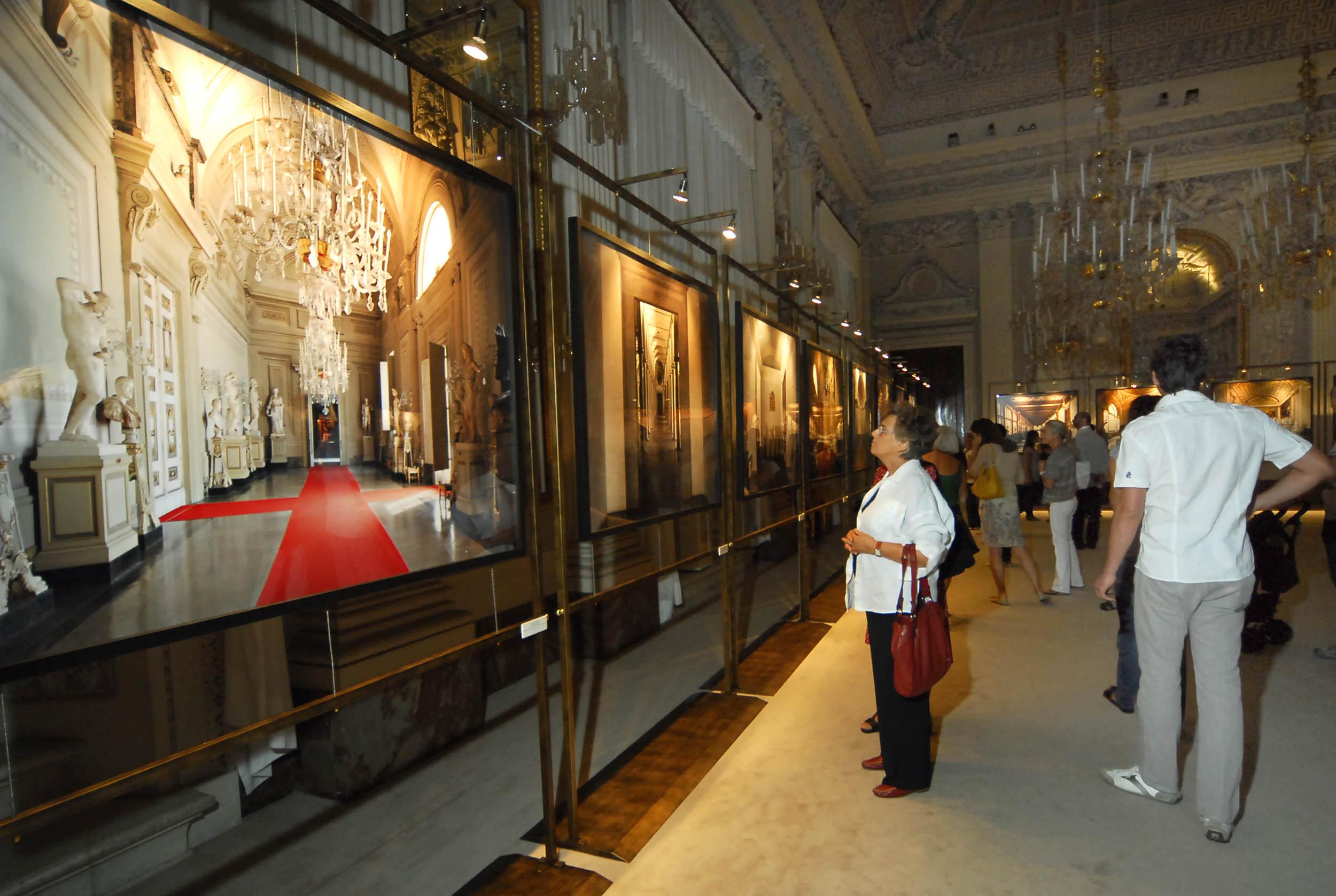 PRESSPHOTO  Firenze, Palazzo Pitti Galleria Palatina, mostra fotografica di Massimo Listri