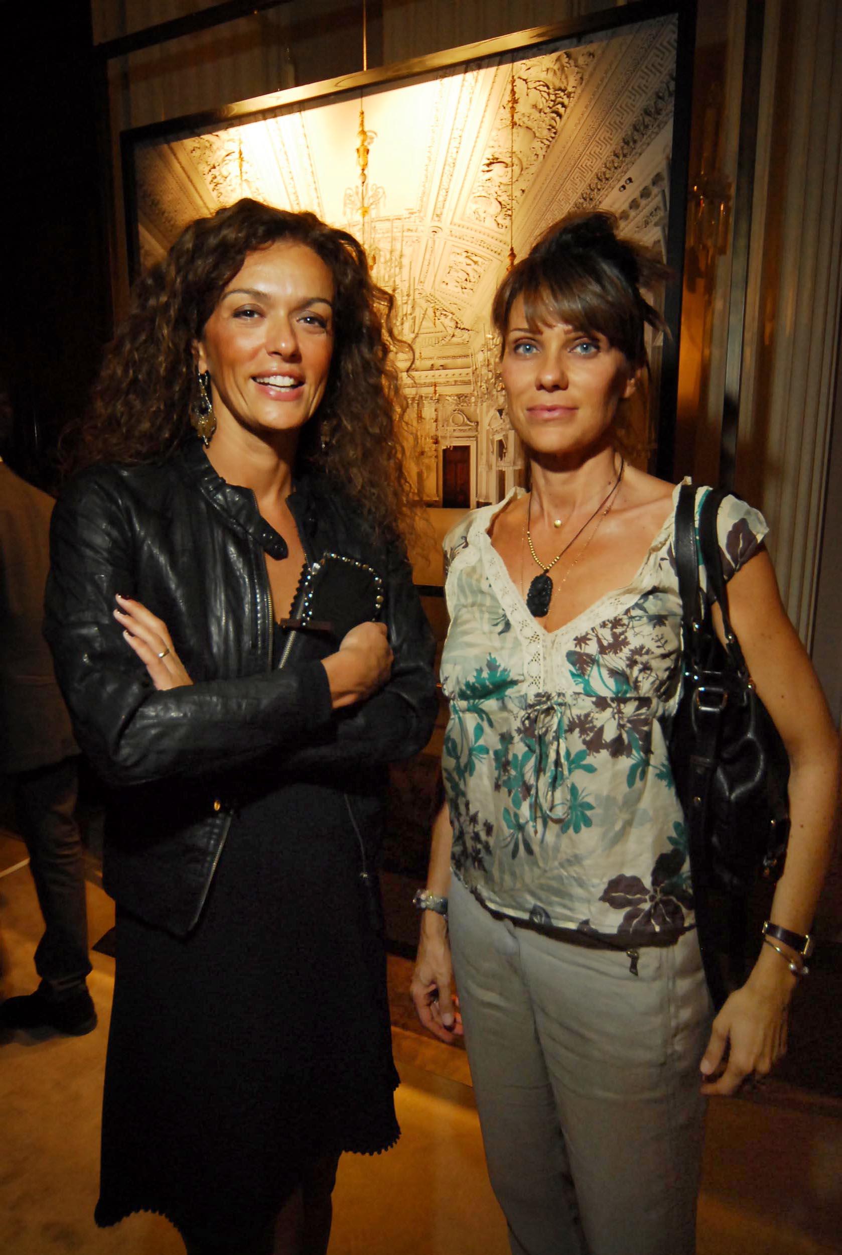 PRESSPHOTO  Firenze, Palazzo Pitti Galleria Palatina, mostra fotografica di Massimo Listri. Nella foto Elisabetta Zani e Daniela Baroncini