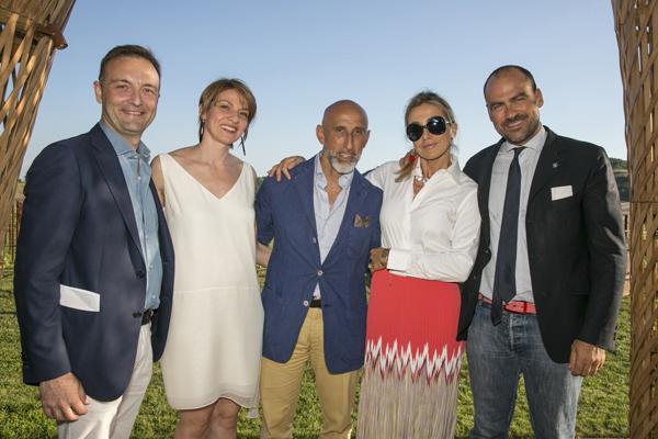 Andrea Aoletta, Enrico Chiavacci, Francesca Senette, Marcello Forti