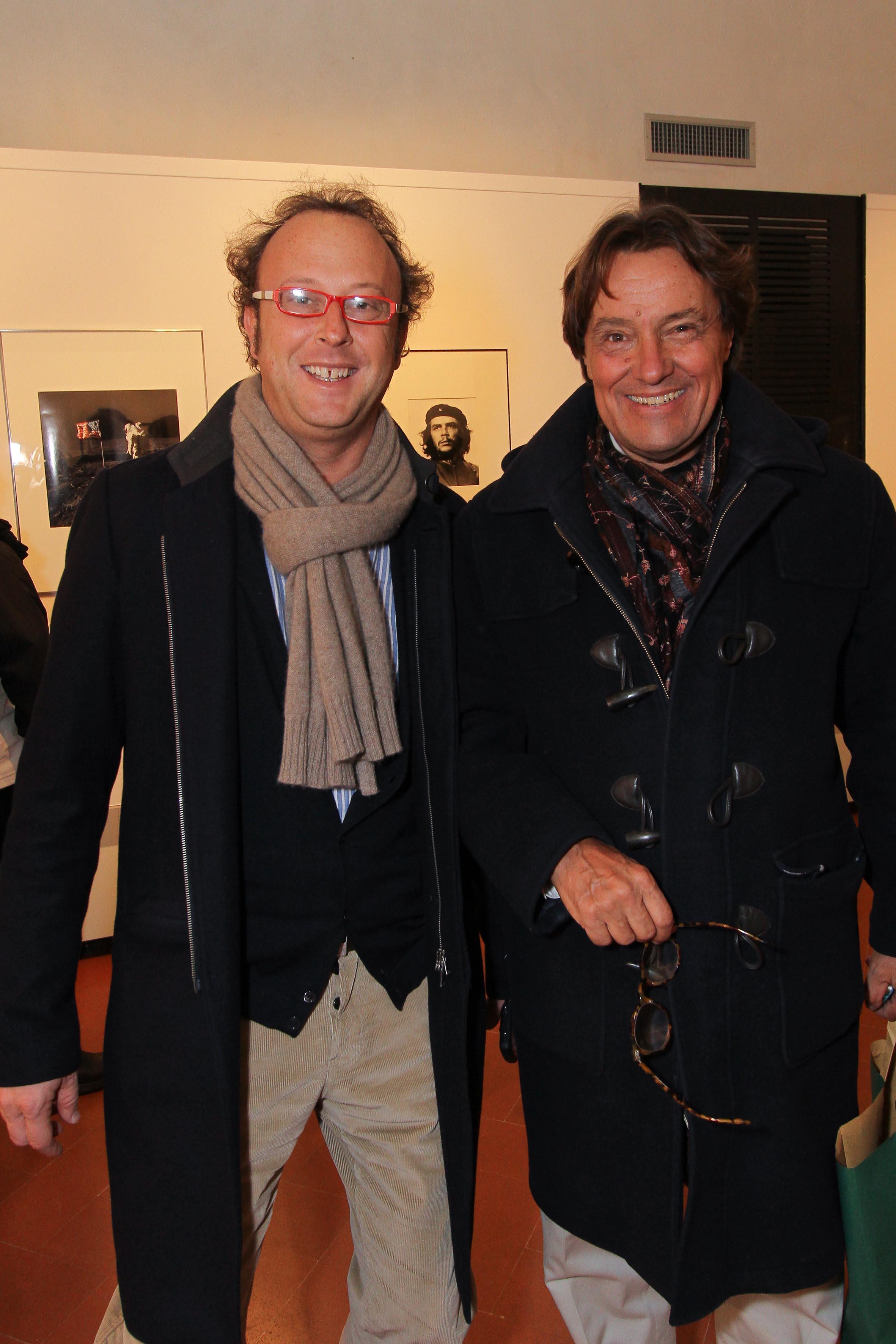 PRESSPHOTO Firenze, Museo Alinari, mostra fotografica Controverses. nella foto Enrico Bruni e Peter Marangoni