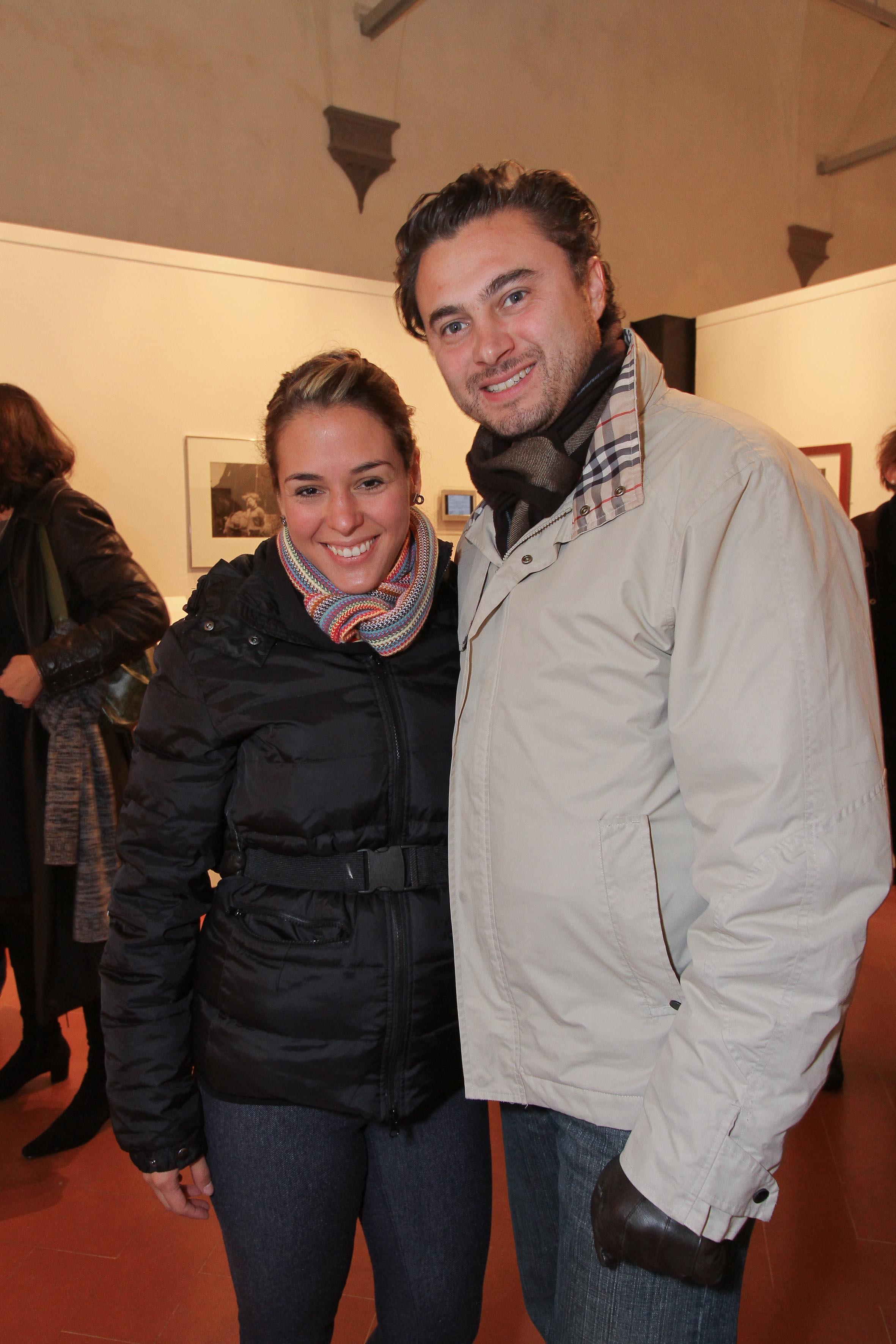 PRESSPHOTO Firenze, Museo Alinari, mostra fotografica Controverses. nella foto Luis e Olga Pedraza