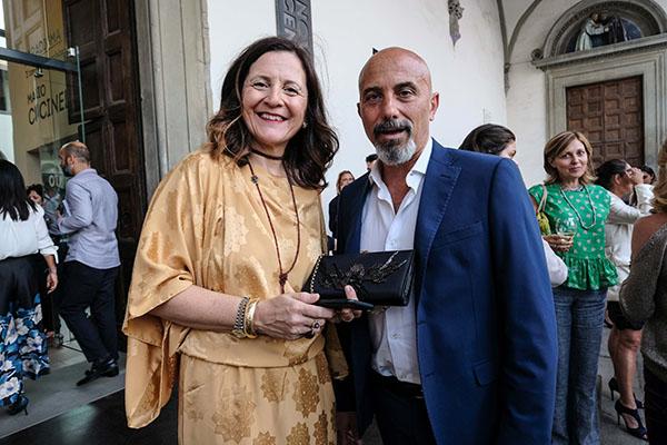 Cristina Giachi e Sergio Risaliti