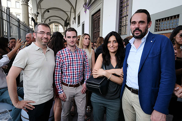 Michele Fontana, Greg Duckloe, Erika Ghilardi e Andrea Olianti