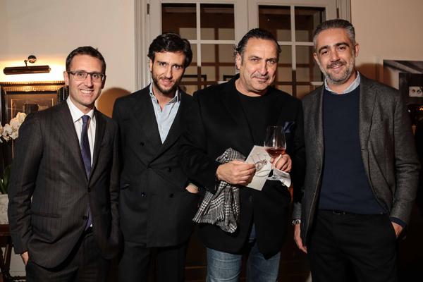 Maurizio Galimberti, Alex V. Lana, Lorenzo Soleri e Matteo Parigi Bini