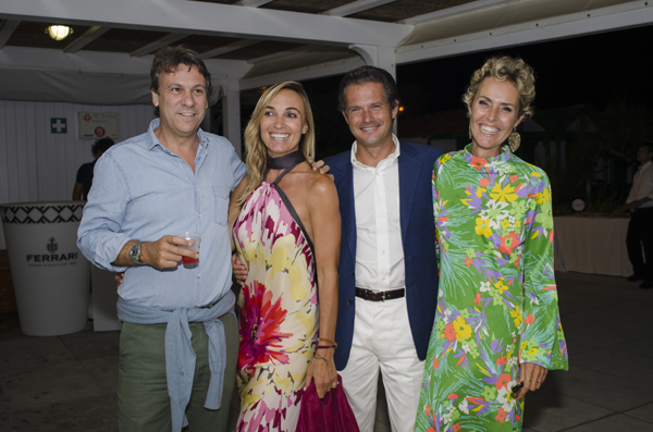 Nicola Porro, Chiara Asti, Matteo Zanetti, Allegra Galimberti
