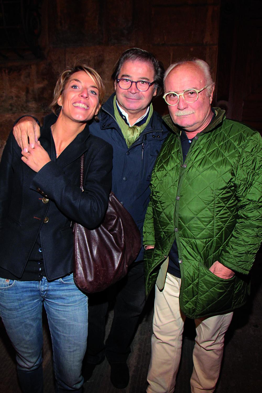 PRESSPHOTO. Firenze, Odeon Bistro, 50 giorni di cinema. Nella foto Gianni Mercatali con Giulia Dirindelli e Ferdinando Cioffi