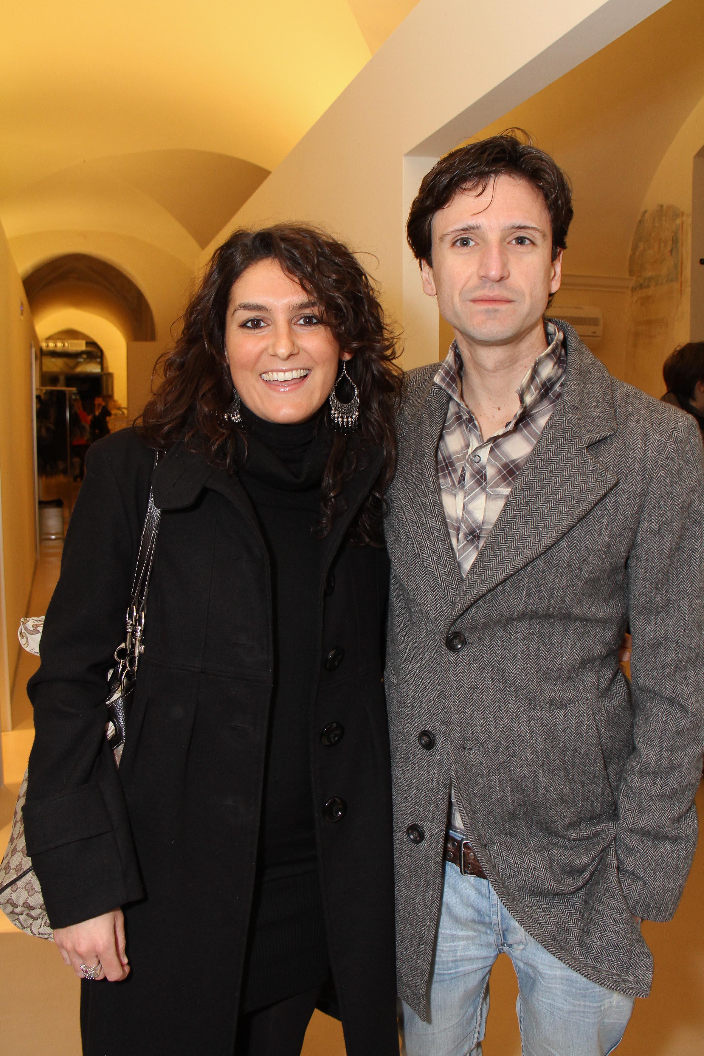 PRESSPHOTO Firenze, palestra OM. Nella foto Francesco Ceccherini e Carlotta Avanzolini