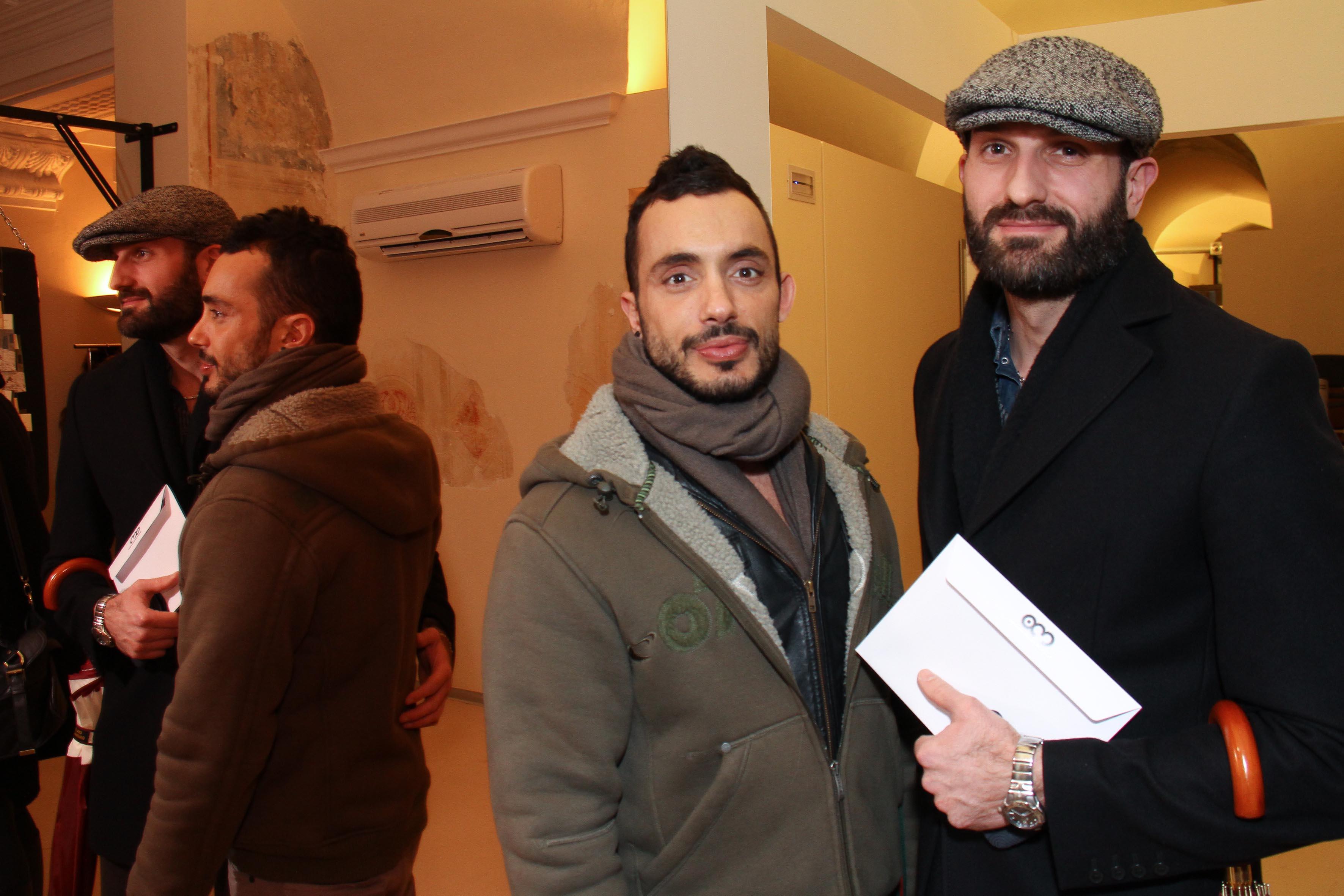 PRESSPHOTO Firenze, palestra OM. Nella foto Angelo Nenna e Michelangelo D'Elia