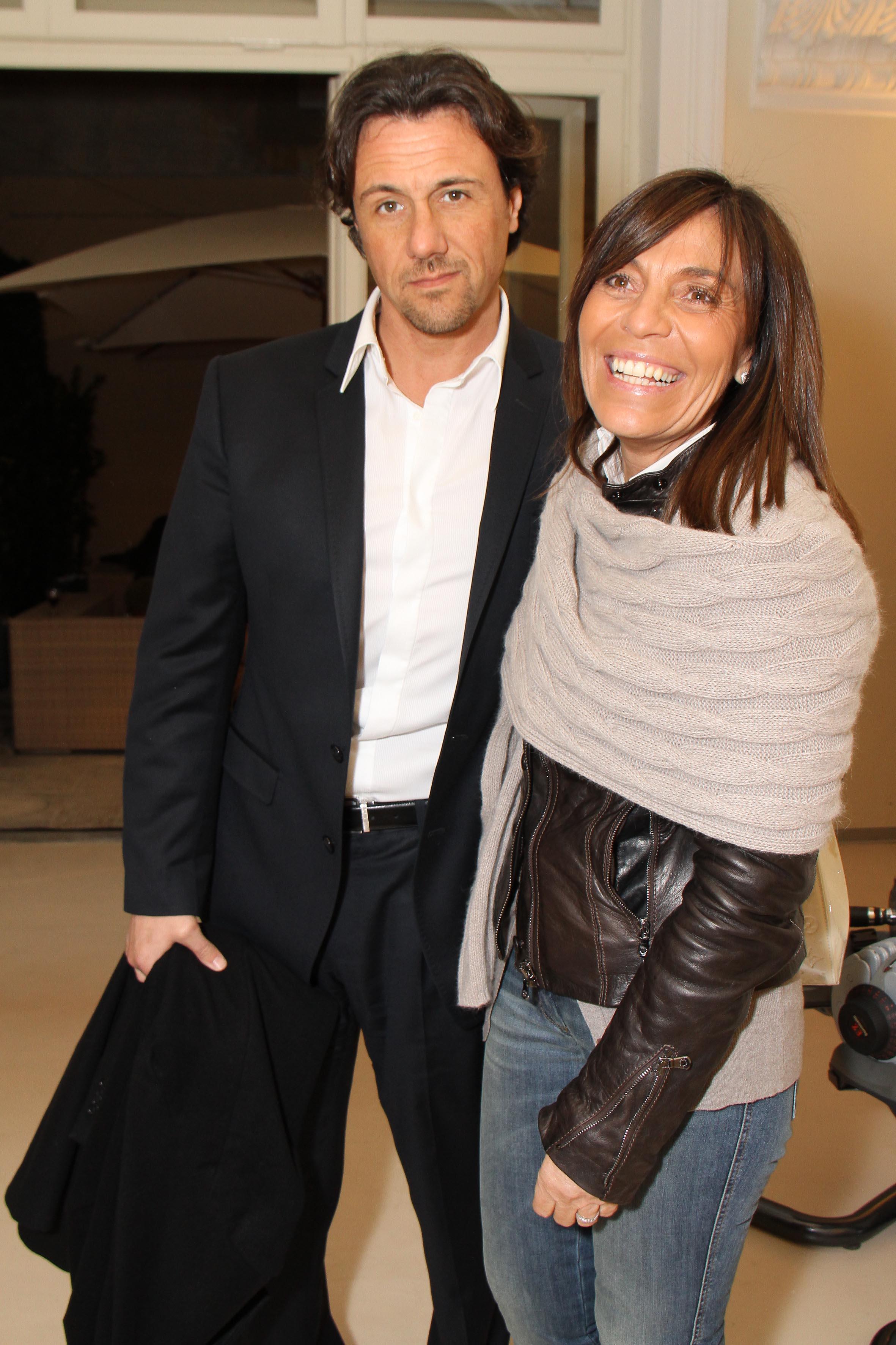 PRESSPHOTO Firenze, palestra OM. Nella foto Cinzia Cecconi e Enrico Lorenzoni